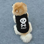 Summer Clothes Cute Small Dog Cat Puppy Vest T-Shirt Coat Pet Apparel Costumes