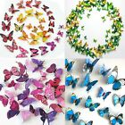 3D Butterfly Wall Stickers Art Decal Magnetic Mural Room Decor 12 Colors