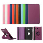 "360 Rotating PU Leather Case Cover Samsung Galaxy Tab E 8"" T377 T375 T377P T377R"