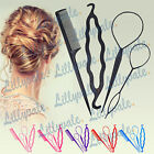 Kyпить 4 Pcs Set Styling Clip Bun Maker Hair Twist Braid Ponytail Tool Accessories на еВаy.соm