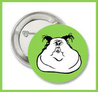 "Funny Face WTF  2.25"" Button or  Magnet"