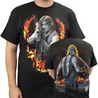 The Walking Dead Daryl With Bazooka Double Sided Adult T-Shirt