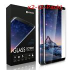 2x Premium Full Cover Tempered Glass Screen Protector for Samsung Galaxy S8/S8+