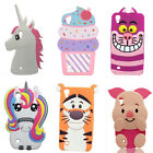 3D Cartoon Soft Silicone Case Back Cover For LG X Power X Style X Cam K7 K10 K8V