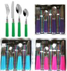 New 16 Piece STYLISH KITCHEN STAINLESS STEEL CUTLERY SET TABLEWARE Spoon Forks