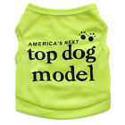 Small Dog Clothes Pet Tee Shirt Puppy Cat Vest for Chihuahua yorkie Teacup Dog