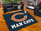 Chicago Bears Man Cave Area Rug Choose 4 Sizes