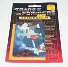 Wheeljack Sealed Pack Card #127 Transformers Trading Action Cards 1985 G1