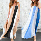 2017 Summer Beach Women Sundress Casual Loose Strap BOHO PARTY Long Maxi Dresses