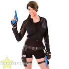 WOMENS TEMPLE TREASURE RAIDER FANCY DRESS COSTUME SET ACTION GAME CHARACTER