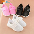 New Cute Toddler Boys Girls Casual Shoes Baby Kids Mesh Sports Shoes Size 6-12