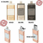 128 256GB OTG USB i Flash Drive Memory Storage Stick for Android iPhone PC 3in1