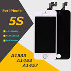 LCD For iPhone 5S Digitizer Touch Screen Assembly Replacement A1533 A1453 A1457