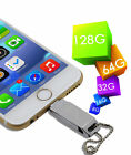 3 in 1  8 - 128 GB USB i Flash Storage Memory Stick for Android Phone iPhone PC