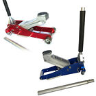 3/1.5 Ton Aluminum Car Auto Floor Jack Low Profile Rapid Pump Lift Tool New