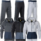 Mens Raiken Essentials Fleece Tracksuit Hooded Full Zip Top Jogging Bottoms Size