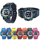 Boys girl new fashion kids multifunction silicone lcd gift wrist alarm watch W30