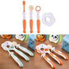 3pcs Soft Baby Tooth Health Infant Dental Care Kit Stage Toothbrush Cleaner Sets