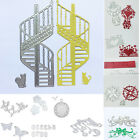 Silver Metal Stencils Cutting Dies Scrapbook Card Album Paper Craft Photo Cards