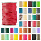 1 Roll 170/80/40M Korea Waxed Polyester Cord Jewelry Beading Thread 1/1.5/2/3mm
