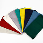 Solid Slub cotton Napkins placemat heat insulation dining table mat 9 Color