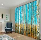3D Sky woods 35 Blockout Photo Curtain Printing Curtains Drapes Fabric Window AU
