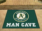Oakland Athletics Man Cave Area Rug Choose from 4 Sizes