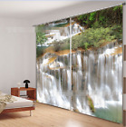 3D Waterfall7 Blockout Photo Curtain Printing Curtains Drapes Fabric Window AU