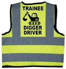 Baby/Chilren/Kids Hi Vis Safety Jacket/Vest Trainee Digger Driver Size 0-9Years