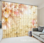 3D Flowers 867 Blockout Photo Curtain Printing Curtains Drapes Fabric Window AU