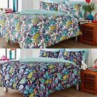 DITTON HILL CABANA LUXURY TROPICAL JUNGLE DUVET COVER EASY CARE COTTON QUILT SET