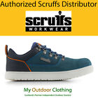 Mens Scruffs Dakota Safety Trainers Steel Toe Cap Work Shoes Boots Navy S2P