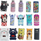 Cartoon Cute Monsters Stitch Bear soft Case Cover for samsung galaxy S7 S8 plus
