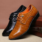 Fashion Men Formal Shoes Flat Oxfords Loafers Leather European Style Shoes 8772