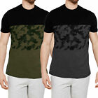 Threadbare Mens Independence Camo Print T Shirt Designer Summer Cotton Tee Top