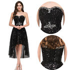 Sequin Evening Party Cocktail Prom Gown Bridesmaid Wedding Carpet Formal Dresses
