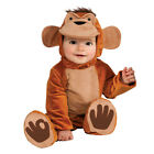 Infants Monkey Costume Rubies New Childrens Fancy Dress Kids Animal Baby Outfit