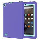 """USA Rugged Shockproof Hybrid Rubber Defender Cover For Amazon Fire 7"""" 5th 2015"""