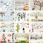 Photo Frame Family Lucky Tree Wall Decal Sticker Living Room Bedroom Home Decor