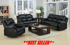 Valencia  3+2+1 SEATER LEATHER RECLINER SOFAS BLACK BROWN CREAM SOFA SET Suite