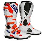 SIDI MX Stiefel Crossfire 2 - neonorange-weiß-blau Motocross Enduro MX Cross