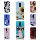 ZTE Zmax Pro /ZTE Carry Z981 Cat Floral Soft TPU Rubber Flexible Slim Skin Case