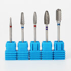 Nail Art Drill Bits Carbide File Cuticle Clean Burr Manicure Pedicure Tool Kits