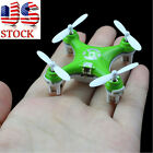 Cheerson CX-10 Mini 2.4G 4CH 6 Axis LED RC Quadcopter Airplane Helicopter US