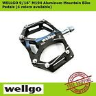 "WELLGO 9/16"" M194 Aluminum MTB Mountain Bike Pedals for Cycling (4 color types)"