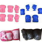 6PCS/Set Kid Roller Blading Roller Skating Wrist Elbow Knee Pads Blades Guard US