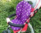 New Baby Infant Stroller Seat Pushchair Cushion Air Flow Cotton Mat Dot US STOCK фото