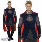 Mens Deluxe King Arthur Medieval Historical Fancy Dress Costume Outfit Knight