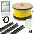 120V UDG Electrical Effulgent Warming Floor Heating Cable System Kits