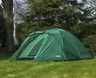 Andes 4 Person Man Berth Double Skin Camping/Festival Dome Tent New